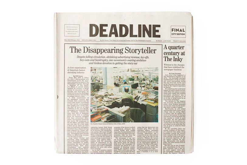Deadline Newspaper
